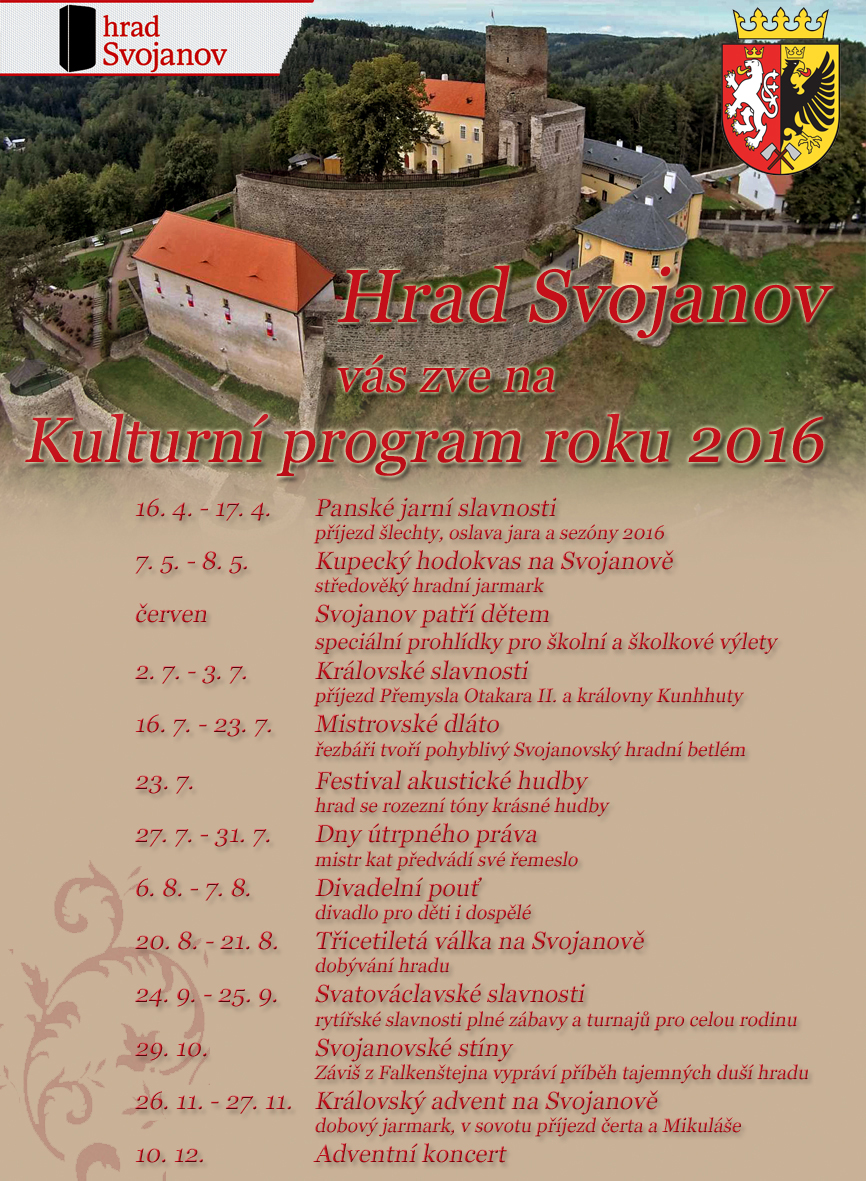 Kulturní program hradu Svojanov